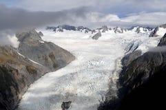 Fox-Gletscher Neuseeland Lizenzfreie Stockfotografie