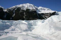 Fox-Gletscher Snowscape Stockfotos