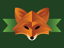 Fox Graphic Royalty Free Stock Image