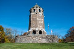 Fox Hill Tower Public monument in Vernon CT USA royalty free stock photos