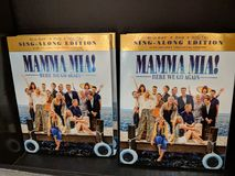 Mamma Mai! Here We Go Again Blu-ray, DVD, Digital sign-along edition for Sale. Fox Hills, Culver City, California - October 25, 2018: Mamma Mai! Here We Go Again stock images
