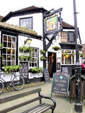 The Fox and Hounds, Lyndhurst, Hamps.. Stock Photography