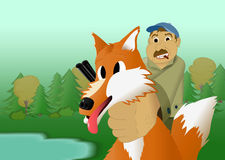 Fox hunt Royalty Free Stock Photo
