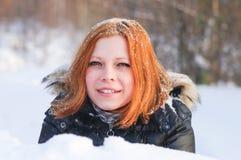 Fox im Schnee Lizenzfreie Stockbilder