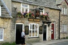 The Fox Inn, Corfe Castle, Dorset. Royalty Free Stock Photos
