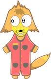 Fox-Karikatur lizenzfreie abbildung