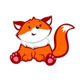 Fox kreskówka Fotografia Stock