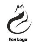 Fox-Logo Lizenzfreies Stockbild