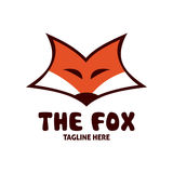 Fox logo stock illustration