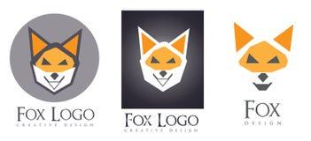 Fox logo Royalty Free Stock Photo