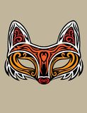 Fox Mask Royalty Free Stock Images