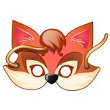 Fox-Maske Karnevals- und Maskeradezubehör Stockfoto