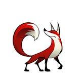 Fox maskotka Zdjęcie Stock