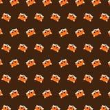 Fox - modèle 46 d'emoji illustration stock
