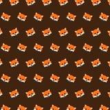 Fox - modelo 02 del emoji stock de ilustración
