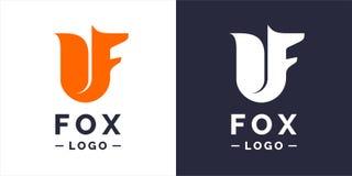 Fox, modern logo and emblem. Fox modern logo and emblem. Vector illustration Stock Photos