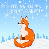 Fox New Year Stock Photo