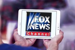 Fox news channel logo Royalty Free Stock Image