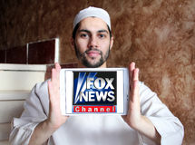 Fox news channel logo Royalty Free Stock Photography