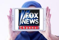 Fox news channel logo Royalty Free Stock Photo