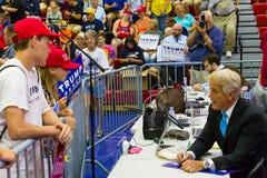 Fox News John Roberts Greets Trump Supporter Royalty Free Stock Photo