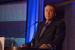 Fox News Personality Governor Mike Huckabee. Fox News personality and politician Governor Mike Huckabee appears in Scottsdale, Arizona, USA. His show, the stock photography