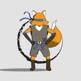 Fox ninja EPS10 图库摄影