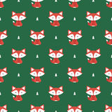 Fox pattern Royalty Free Stock Photography
