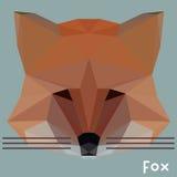 Fox poligonal Imagenes de archivo