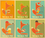 Fox Posters Stock Photo
