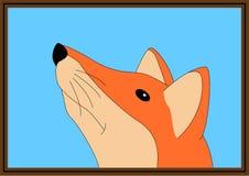 Fox selfie Obrazy Stock