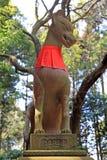 Fox Shrine at Fushimi Inari-taisha Shrine in Kyoto Royalty Free Stock Photo