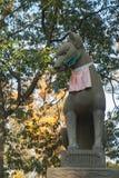 Fox-Skulptur in Osaka Lizenzfreies Stockfoto