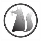 Fox stamp Stock Photography