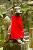 Fox statue Stock Image