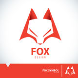 Fox symbol icon Stock Photography