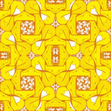Fox and tails pattern Royalty Free Stock Photos