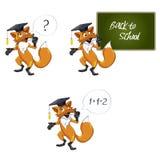 Fox teacher Stock Photo