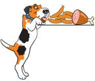 Fox terrier del fumetto Fotografia Stock Libera da Diritti