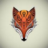 Fox tribale Fotografia Stock