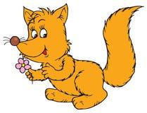 Fox (vector clip-art) Stock Images