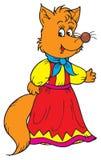Fox (vector clip-art). Vector clip-art / children's illustration for your design Royalty Free Stock Image