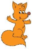Fox (vector clip-art) Stock Photography