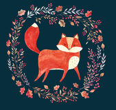 The fox Royalty Free Stock Photography