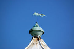 Fox weather vane, Southsea, Portsmouth. The fox shaped weather vane on the top of the lighthouse at Southsea, Portsmouth.  The vane was made in the 19th century Royalty Free Stock Images
