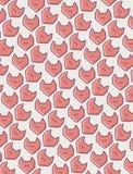 Fox wektoru wzór Zdjęcie Stock