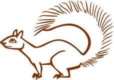 Fox wiewiórka Obrazy Royalty Free