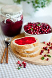 Foxberry jam Stock Image