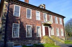 Foxdenton Hall i Chadderton större Manchester Arkivbild