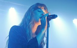 Foxes @ Oslo, Hackney 29.07.15 Stock Image